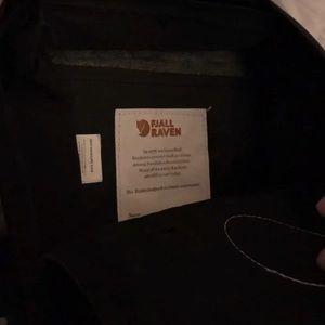Mini fjallraven backpack black